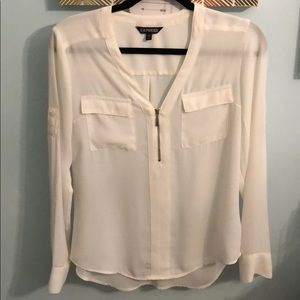 Express Zip Blouse